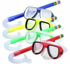 Kinder Schnorchelmaske Taucherbrille Schnorchelset Tauchermaske Schwimmbrillen