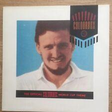 "Colourbox The Official Colourbox World Cup Theme 4AD BAD 605 UK Vinyl 12"" Single"