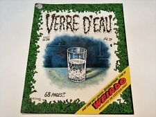 VERRE D'EAU: LAST ISSUE OF WEIRDO BY R. CRUMB 1993 VERY GOOD CONDITION SEE PICS