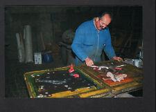 FRETEVAL 41 : FONDERIE / MODELEUR au travail en 1995