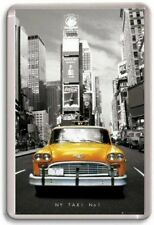New York City Yellow Cab Taxi Fridge Magnet #1