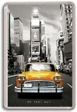 ciudad de Nueva York Yellow Cab Taxi Imán de NEVERA #1