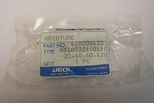 JEOL TEM  Molybdenum  Strip Aperture 20, 40, 60, 120 micron  UNUSED