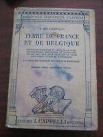 TERRE DE FRANCE ET DE BELGIQUE di B.RAVA-CORINALDI