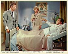 KIRK DOUGLAS EDWARD G. ROBINSON TWO WEEKS IN ANOTHER TOWN 1962 PHOTO VINTAGE N°7