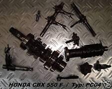 Honda CBX 550 F_PC04_Getriebe_transmission_gear_Zahnrad_Wellen_Schaltgabel