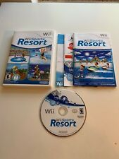 Wii Sports Resort Complete w/ Manual And Case -Excellent
