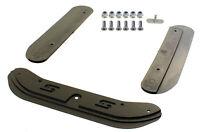 Senzo OTK (TonyKart) Chassis Protectors Black w/ Fixing Bolts Go Kart