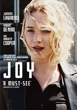 Joy (DVD, 2016) Jennifer Lawrence Robert De Niro Bradley Cooper New Sealed FS!