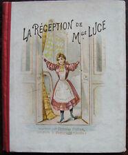 LA RECEPTION DE MLLE LUCE, ENFANTINA, THOMAS FRERES PONTARLIER, CIRCA 1900
