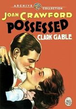 Possessed 1931 (DVD) Joan Crawford, Clark Gable, Wallace Ford - New!