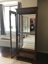 Lighted Glass Display Cabinet By American of Martinsville - Great Condition