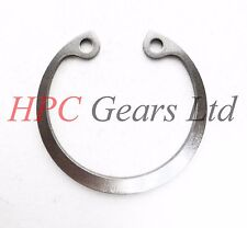 2 x Stainless Steel 50mm Internal Circlips DIN472 Circlip HPC Gears