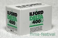 3 rolls ILFORD DELTA 400 35mm 36exp Black and White Film 135-36