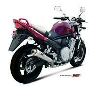 ÉCHAPPEMENT POUR SUZUKI GSF 650 BANDIT 2007 > 2015 MIVV X-CONE INOX SLIP-ON