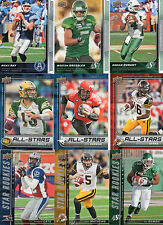 2015 Upper Deck CFL Star Rookies Complete Your Set Pick from the enclosed list