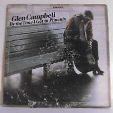 "33T Glen CAMPBELL Vinyle LP 12"" BY THE TIME I GET TO PHOENIX - CAPITOL 2851 Rare"