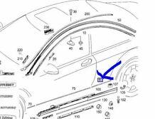 Mercedes W216 CL lower rear Guard Mould R/H A2166903080 Genuine NEW