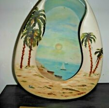 L@K One Of A Kind Hand-Painted plastic Bed Pan Unique Rare Signed