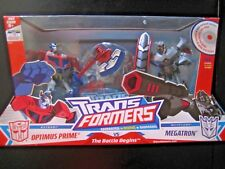 Transformers ANIMATED OPTIMUS PRIME and MEGATRON - MISB