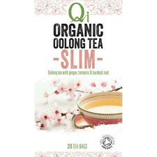 Qi Organic Oolong Slim Tea Bags 20 pack 32 gram