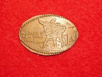VINTAGE SOUVENIR WILDLIFE IN NEW YORK DEER FAWN  ELONGATED PENNY COIN