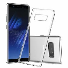 Thin Case Galaxy Note 8 Cover Rubber Gel Transparent Clear Case Soft Silicone
