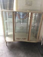 Vintage Glass Cabinet Collection Only