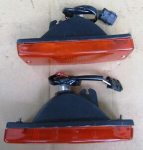 Isuzu campo P/U Ute model 1988 02 front bumper lights pair LH RH aftermarket