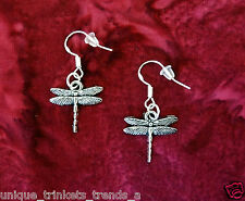 BUY 3 GET 1 FREE~DRAGONFLY SILVER EARRINGS~GRADUATION GIFT FOR HER FRIEND WOMEN