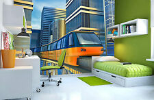 Monorail Train  Wall Mural Photo Wallpaper GIANT WALL DECOR PAPER POSTER