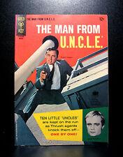 COMICS: Gold Key: Man From U.N.C.L.E. #5 (1966) - RARE