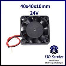 Ventilateur 4010 axial 40x40x10mm 24V - Creality CR10, Ender 3, alfawise...