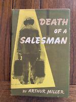 Death of a Salesman Arthur Miller Book club 1st Edition 1949 Near Fine, w/DJ