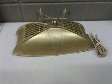 Vintage Mid Century Plastic Clip On Headboard Bed Reading Light Lamp (d21)