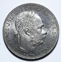 1885 Hungary One 1 Forint - Ferenc Jozsef - Lot 220