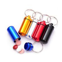 Wholesale Universal Keyring Key Chain Pill Holder Container Box Car Accessories