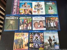 10 Awesome Comedies on Blu-Ray - MINT - Due Date, Easy A, Internship, Hot Tub ++