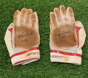 Andrew Benintendi Boston Red Sox Game Used Batting Gloves 2016 *1st Career HR*