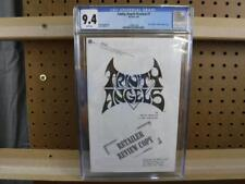 CGC 9.4 March 1997 Trinity Angels Black & White Retailer Review Copy Acclaim