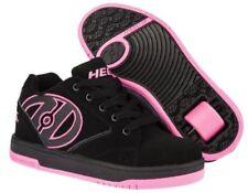 Scarpe neri sintetici marca Heelys per bambine dai 2 ai 16 anni