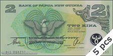 TWN - PAPUA NEW GUINEA 16b - 2 Kina 1997 UNC Polymer - Prefix ALL DEALERS x 5