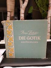 Die Gotik - Deutschland; Herausgeber Thomas Abeking - Mit vielen Illustrationen