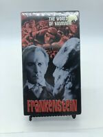 Frankenstein The World Of Hammer Rare & OOP Horror Anchor Bay Home Video VHS New