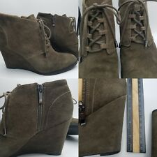 Franco Sarto Wedge Boots Womens Size 9