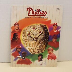 1994 PHILADELPHIA PHILLIES YEARBOOK Darren Daulton Curt Schilling John Kruk MLB