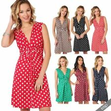 Summer Viscose Dresses for Women with Belt