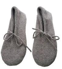 Balldiri 100% Cashmere da donna scarpa casa grigio marrone mélange bianco 36