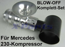 Blow Pop Off Ventil Set Mercedes C230 E230 Kompressor