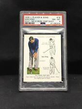 1939 John Player & Sons #18 Sam King PSA 8